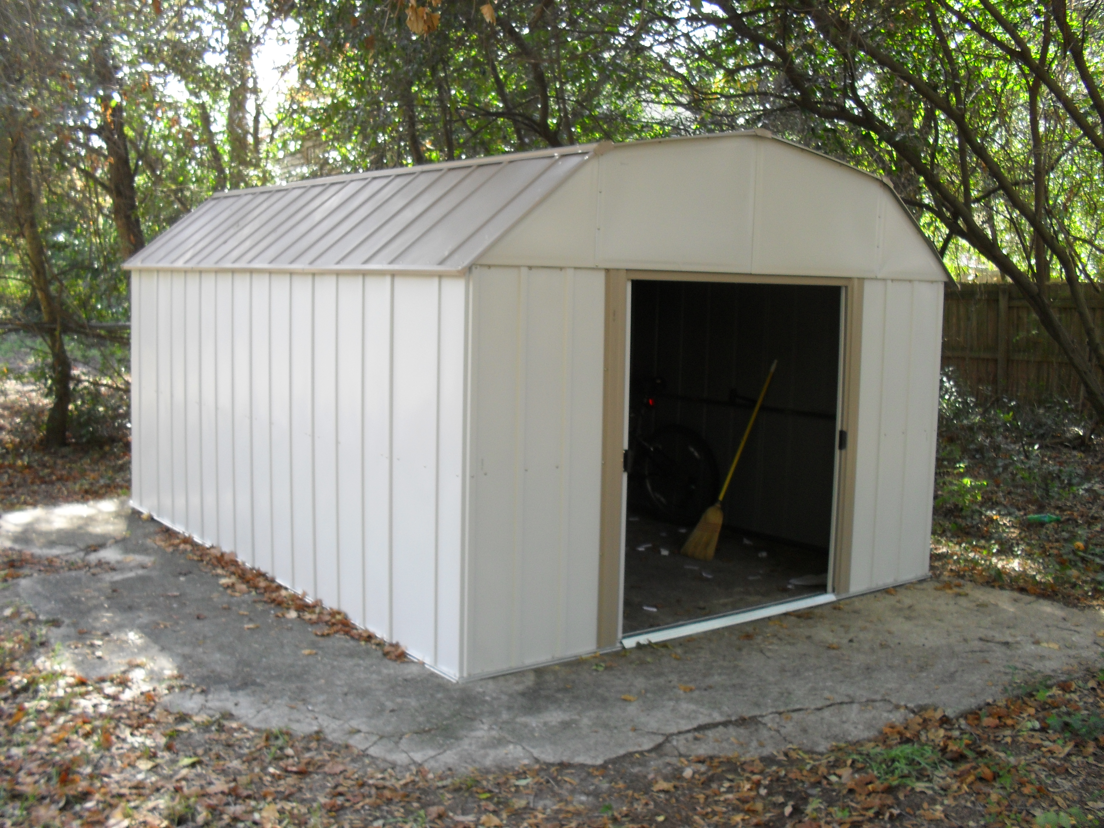 Installing An Arrow Metal Utility Building Motopsyco S