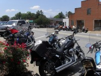 Bikes On Main Chesnee Sc 2014 July the weather